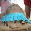 1 Pcs Nova venda quente do banho do bebê chapéu 3 cores bebê ajustável touca de banho shampoo cuidados com o bebê macio proteger para crianças chuveiro viseira