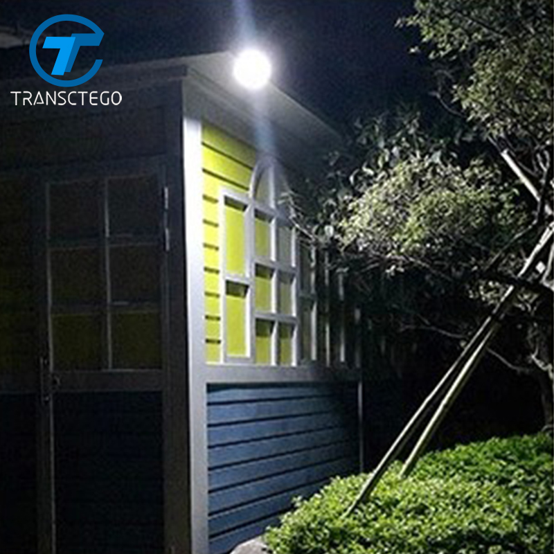 TRANSCTEGO Solar Light Garden Led Motion Sensor outdoor super Solar lamp waterproof body ...