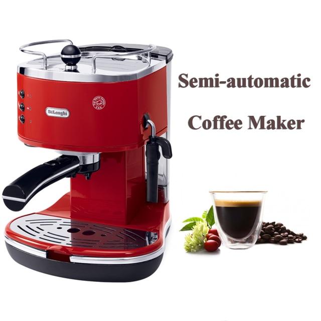 Household Semi Automatic Coffee Maker Italian Machine Espresso 15 Bar