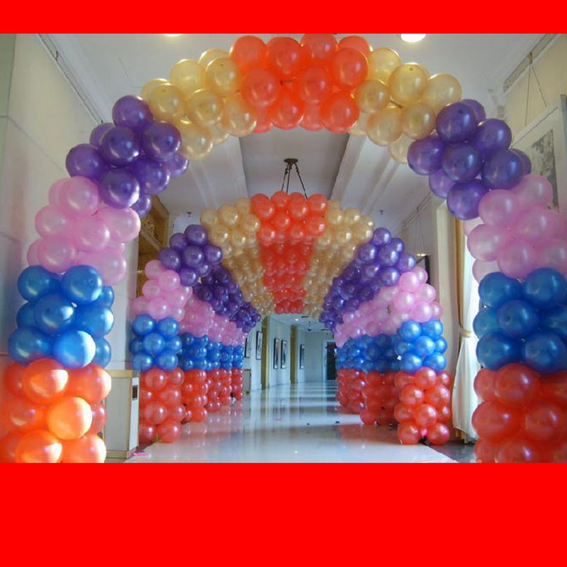 AJP aluminum film balloon arches wedding birthday celebration
