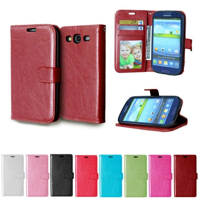 Lật Trường Hợp Cho Samsung Galaxy S 3 iii S3 Siii Neo i9300 i 9300 i9301 Duos i9300i Gt-I9300 GT-i9301 GT-i9300i i9305 Gt-I9305 bìa