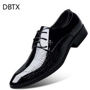 Men's Dress Shoe Snakeskin Gra