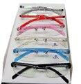 (10 pçs/lote) Moda plástico sem aro vidros ópticos frame/eyewear do frame ótico do acetato transparente sem aro