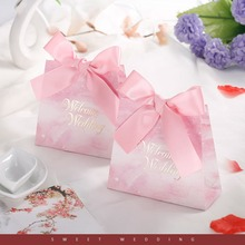 New 5pcs Wedding Candy Box Wedding Supplies Candy Gift Bag Wedding Decorations Party Favor And Gift Boxes & Bags Party Decors wedding gift