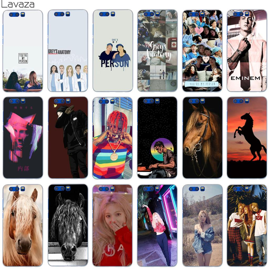 Lavaza Hip Hop Star 2pac Eminem Horse Hyuna Red Case for Huawei Honor Mate Nova 9 P20 2i 2 2s P Smart Lite Pro Plus