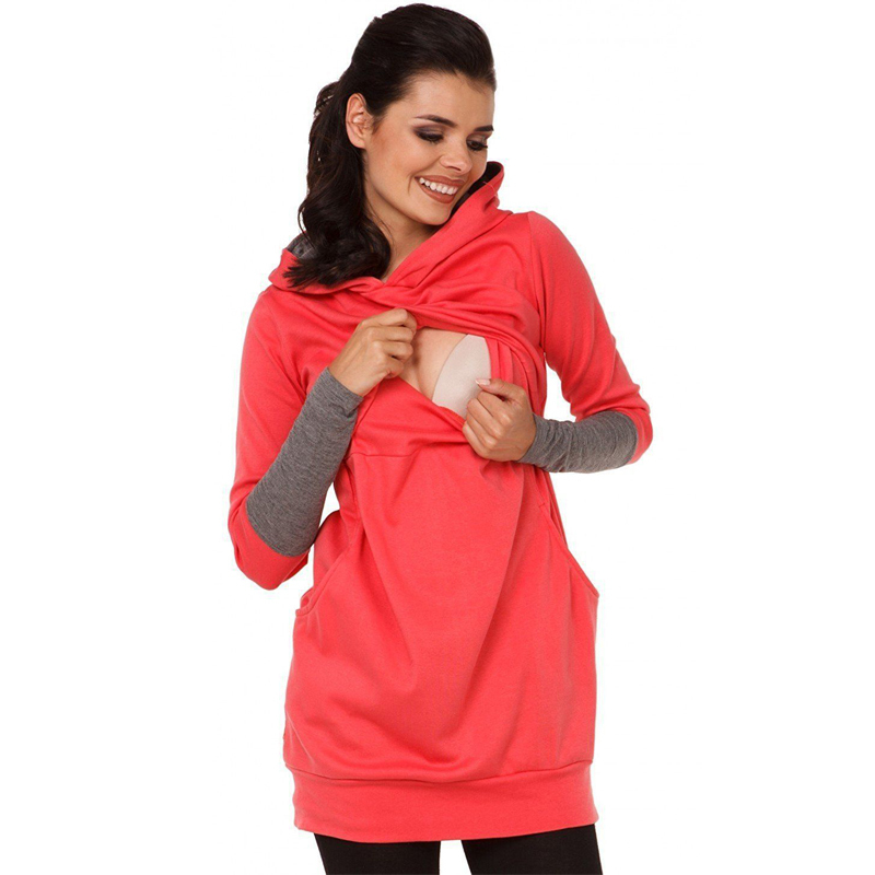 Autumn And Winter Nursing Tops Long Sleeve For Pregnant Women For Breast Feeding Clothes Maternity Women Sport ClothingAutumn And Winter Nursing Tops Long Sleeve For Pregnant Women For Breast Feeding Clothes Maternity Women Sport Clothing