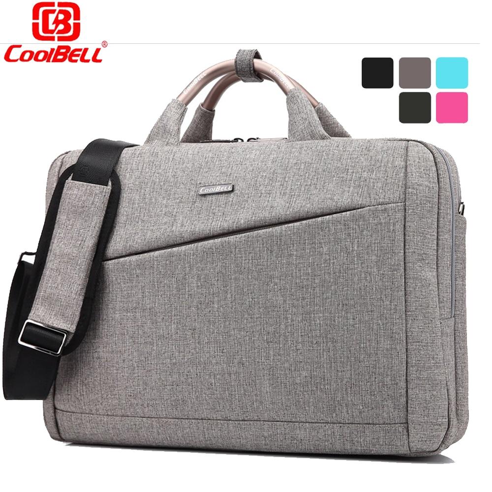 ФОТО Large Laptop bag 15.6 15 inch Computer shoulder Messenger bags Women men handbag computer briefcase Notebook bag Luxury famous
