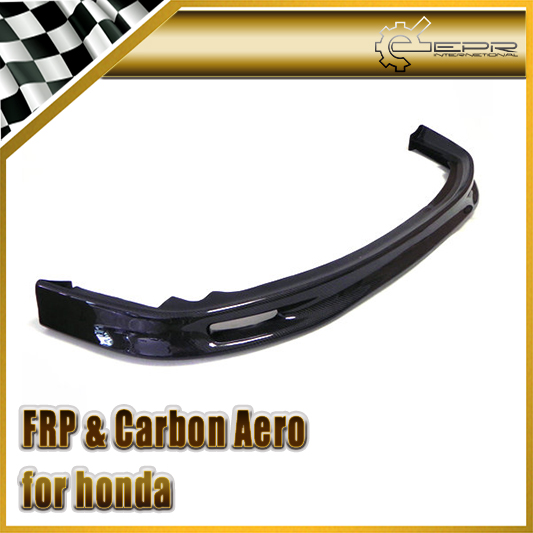 Car styling For Honda 1992 1995 EG Civic Carbon Fiber Spoon Style Front Lip