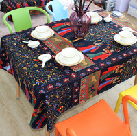 Hot Sale Phuket Style Table Cloth Home Outdoor Coffee Table Cloth Hotel Restaurant Table Cover