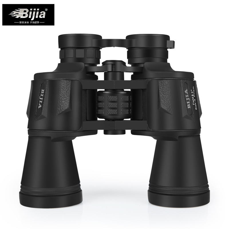 Hot Sell BIJIA Diamond HD Binoculars Large Eyepiece Non-infrared Night Vision Telescope Camping Hunting Spotting Scope new 60x60 optical telescope night vision binoculars high clarity 3000m binocular spotting scope outdoor hunting sports eyepiece