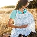 Maternity Enfermagem Dress Nursing Cover Breastfeeding Cover Infant Baby Breathable Cotton Muslin Nursing Cloth Suckle Cloth
