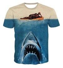 Deadpool T-Shirt Tees  Cartoon Characters 3d t shirt