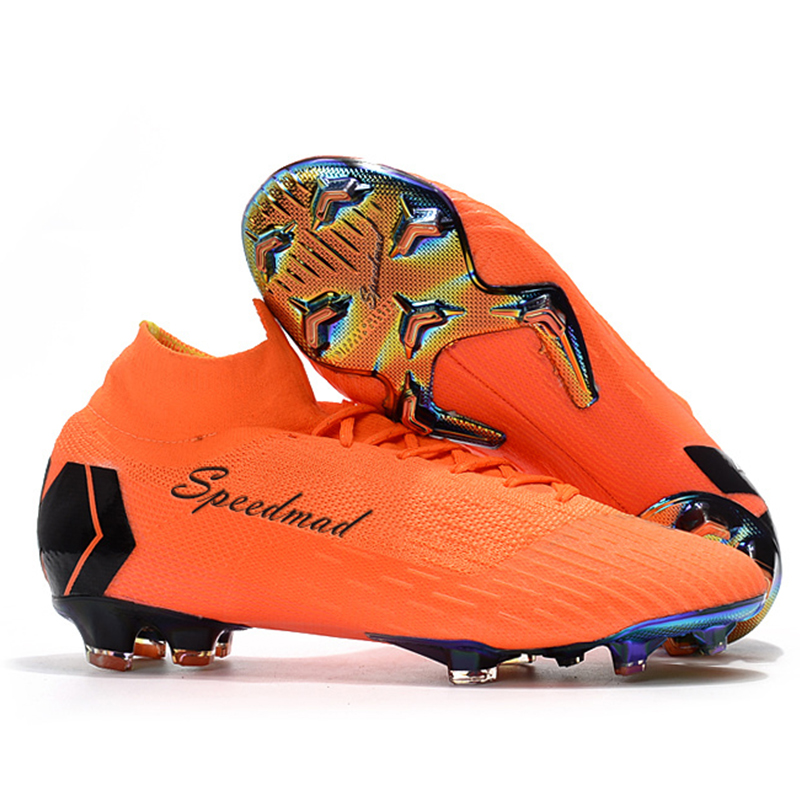 88056003506 Football Shoes Men CR7 Soccer Cleats Original Superfly VI FG Football Boots  Chuteira Futebol Profissional Scarpe Da Calcio 2018-in Soccer Shoes from  Sports ...