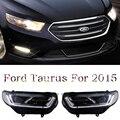 Бесплатная доставка! HID Рио СВЕТОДИОДНЫЕ фары фары HID Грыжи лампа аксессуары продукты Для Ford Taurus 2016
