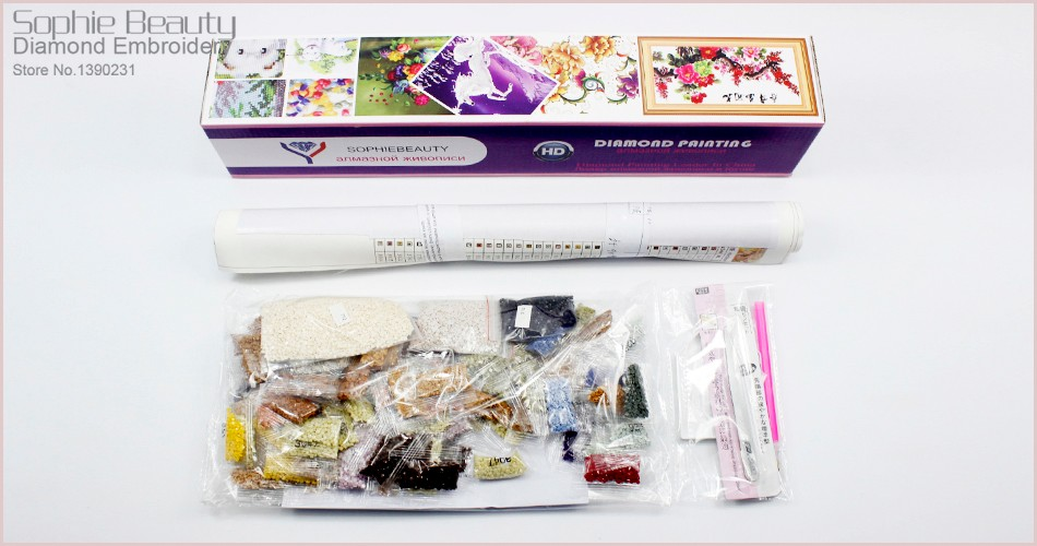 diamond painting Box packing 2