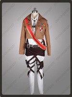 Атака на Титанов Shingeki no Kyojin размещенных корпуса командир в горошек Pixis Косплэй костюм mp001166