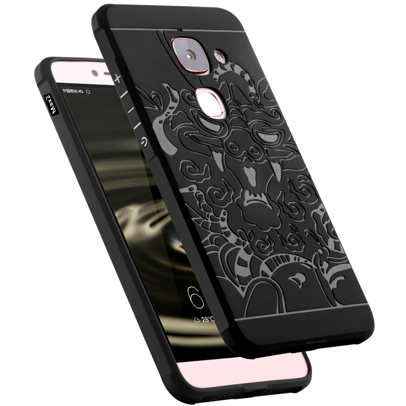 Business Blade Pure Chinese dragon Shield Protector case cover For Leeco Letv max 2 Le X820 le2 letv max2 letv 2 le pro 2 + pen