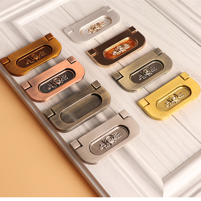 European style and modern style combined with flip over lid type handle simple installation for cabinet door and drawer in Cabinet Pulls from Home Improvement