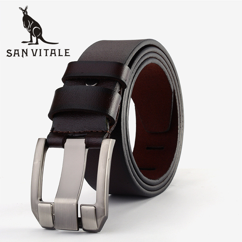 Belt   For Men   Belts   Genuine Leather Cheap Straps Large Size Buckle Elastic 2018 New High Quality Reversible Designer Casual Waist