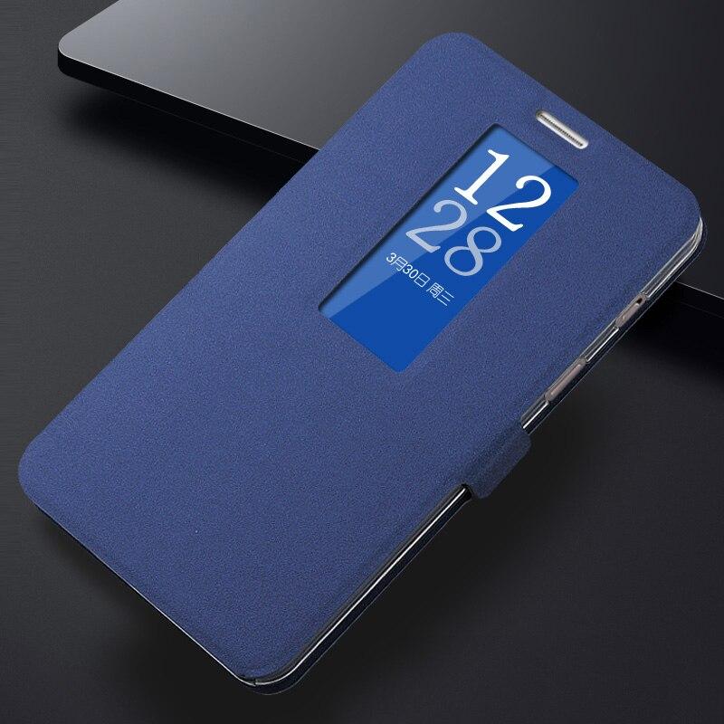 imágenes para Caso de Cuero de Lujo de la vendimia para Coolpad 9976A Dashen, ventana de Visualización Inteligente sleep wake Cubierta Del Teléfono Del Tirón