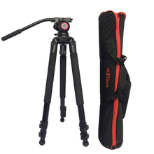25kg Payload 701A Aluminum Moveable Skilled Video Digicam Tripod Legs with Fluid Head MYT802