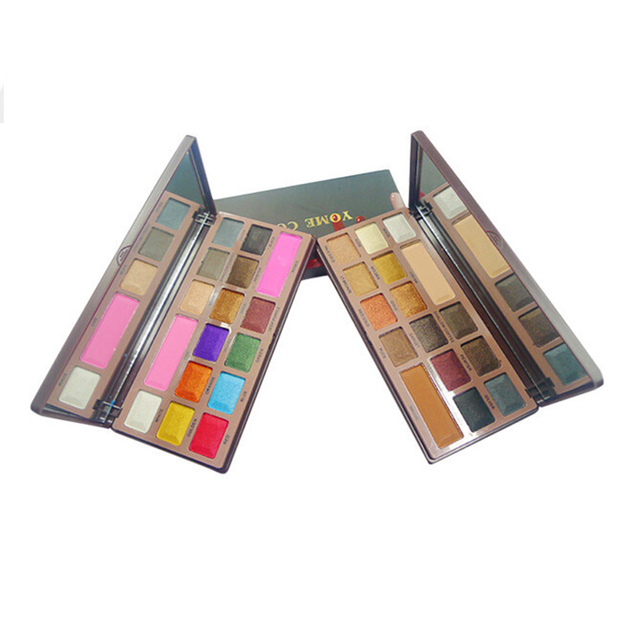 16 Color Chocolate Eyeshadow Makeup Palette Long Lasting Professional Shimmer Eyeshadow Make Up Cosmetic Set