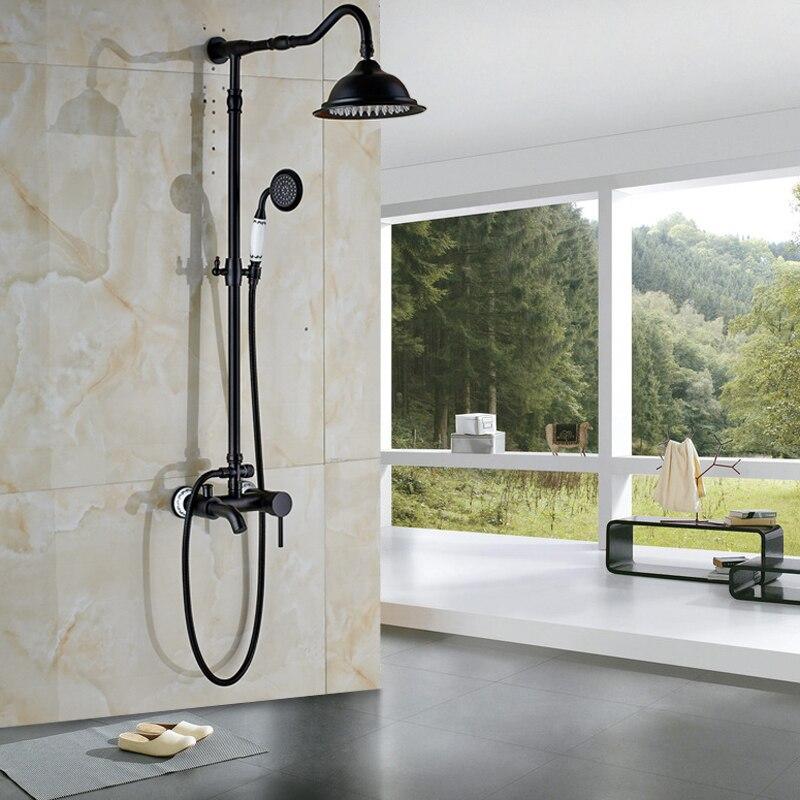 Luxury Design Bath Shower Set Mixer faucet Single Handle 3 functions ...