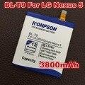 Kps bl-t9 bateria de 3800 mah para lg nexus 5 e980 google nexus g nexus5 megalodon d820 d821 google nexus 5 d8 bateria bateria bl t9