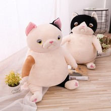 Creative Fat Cat Plush Toy Lazy Cat Stuffed Toys Children Toy Pillow Cushion Home Decoration Gift