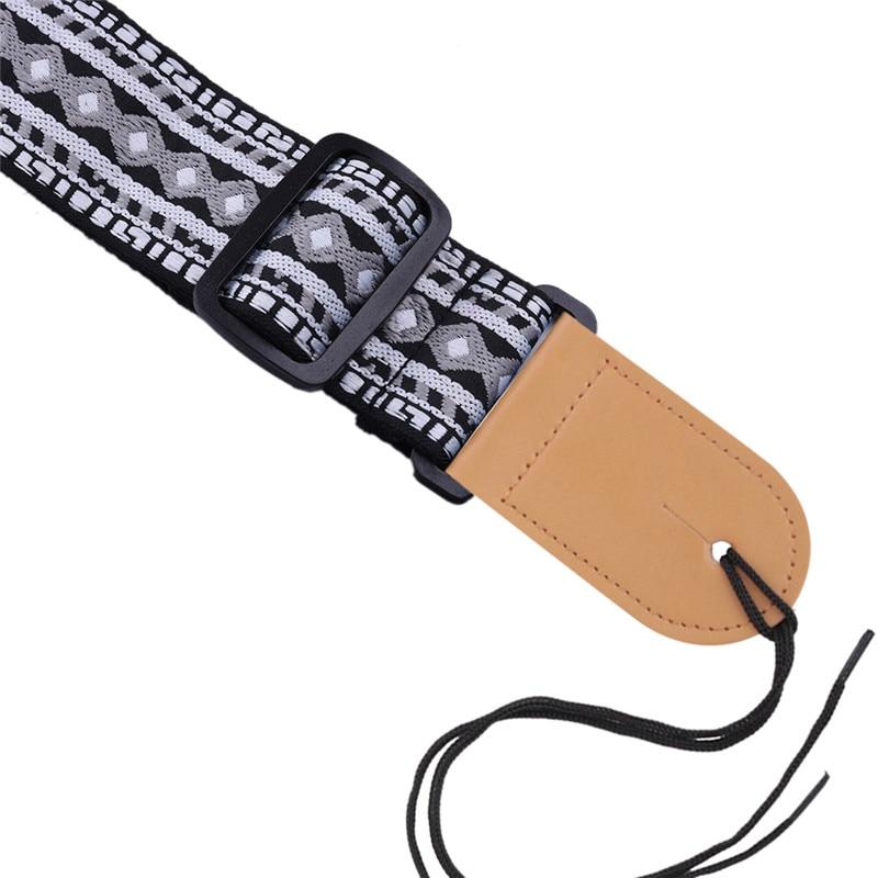 P&P Guitarra acústica Correa Diseño personal Estilo de bordado - Instrumentos musicales - foto 4