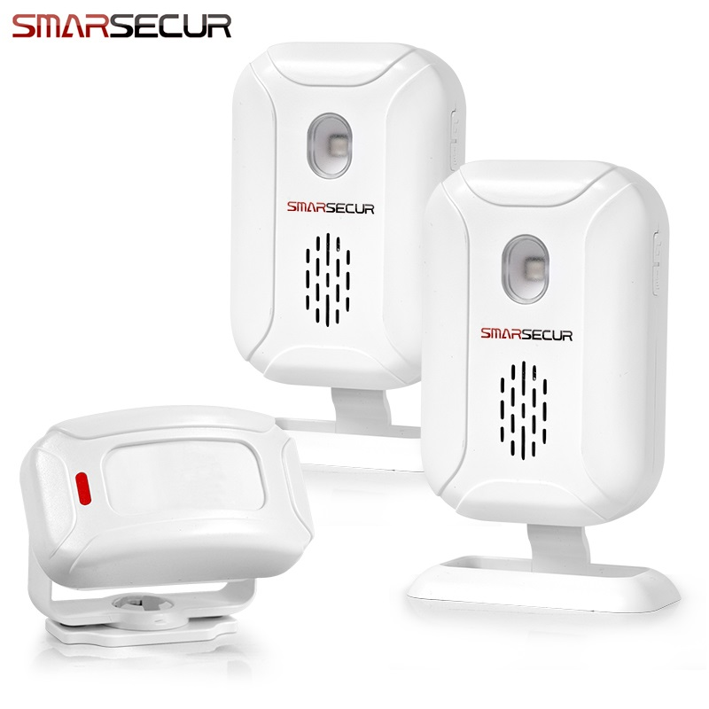 Welcome Shop Store Home Welcome Chime Wireless Infrared IR Motion Sensor Door bell Alarm Entry Doorbell Reach 150m managing the store