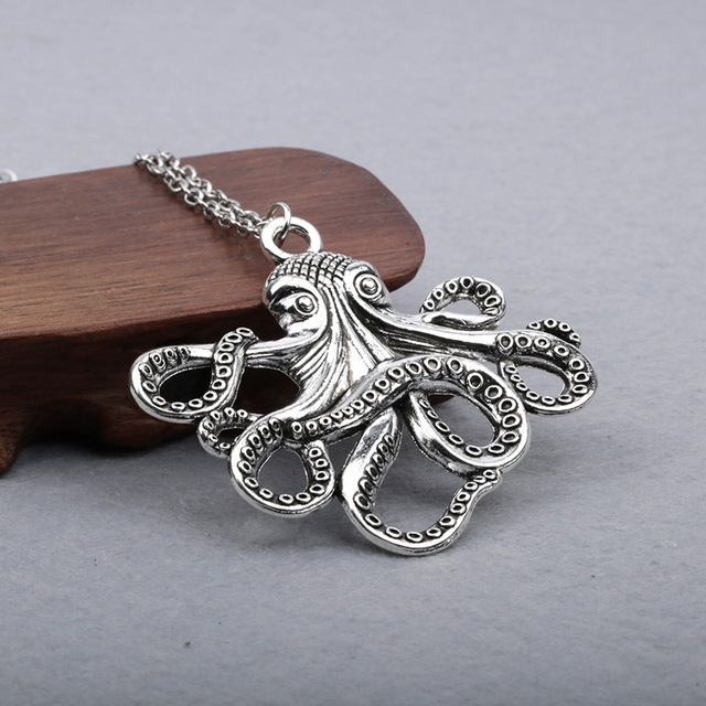 Octopus Long Chain Necklace4