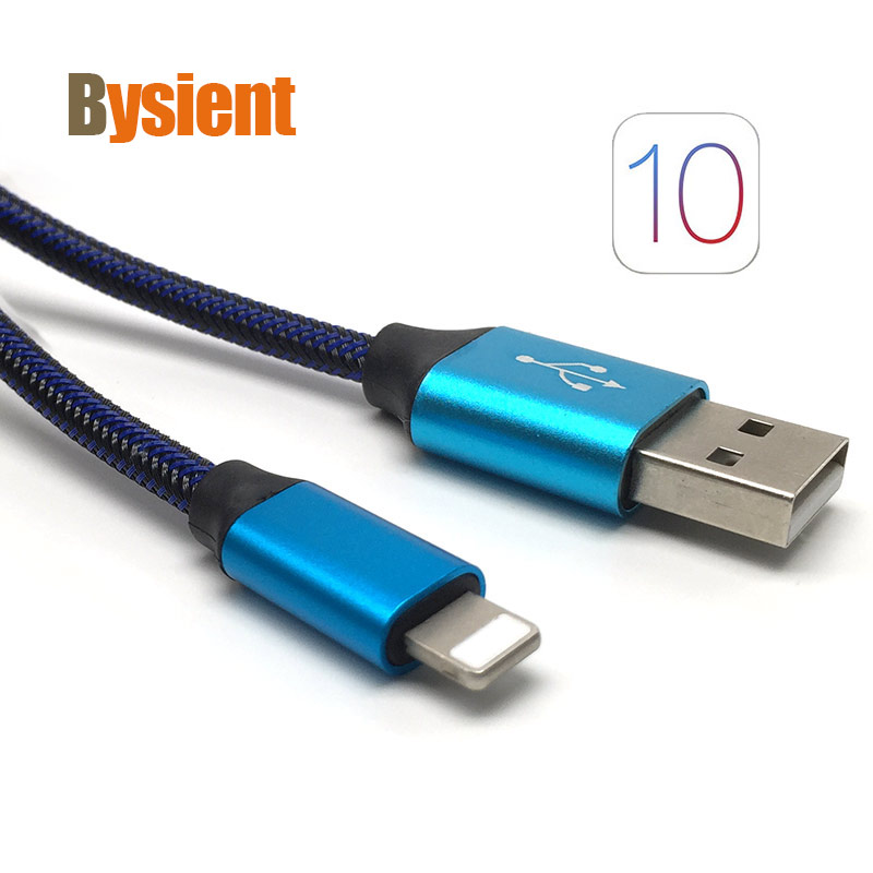 1M High Quality 8 Pin to USB Charging Data Cable for iPhone X 5 5c 5s 6 6s 7 8 Plus iPad Pro mini Air iPod for IOS10 IOS11