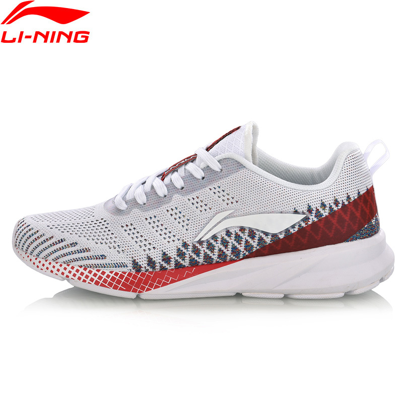 Li-Ning Women COLOR ZONE Running Shoes Cushion Mono Yarn Breathable LiNing Li Ning Fitness Sport Shoes Sneakers ARHN116 XYP752