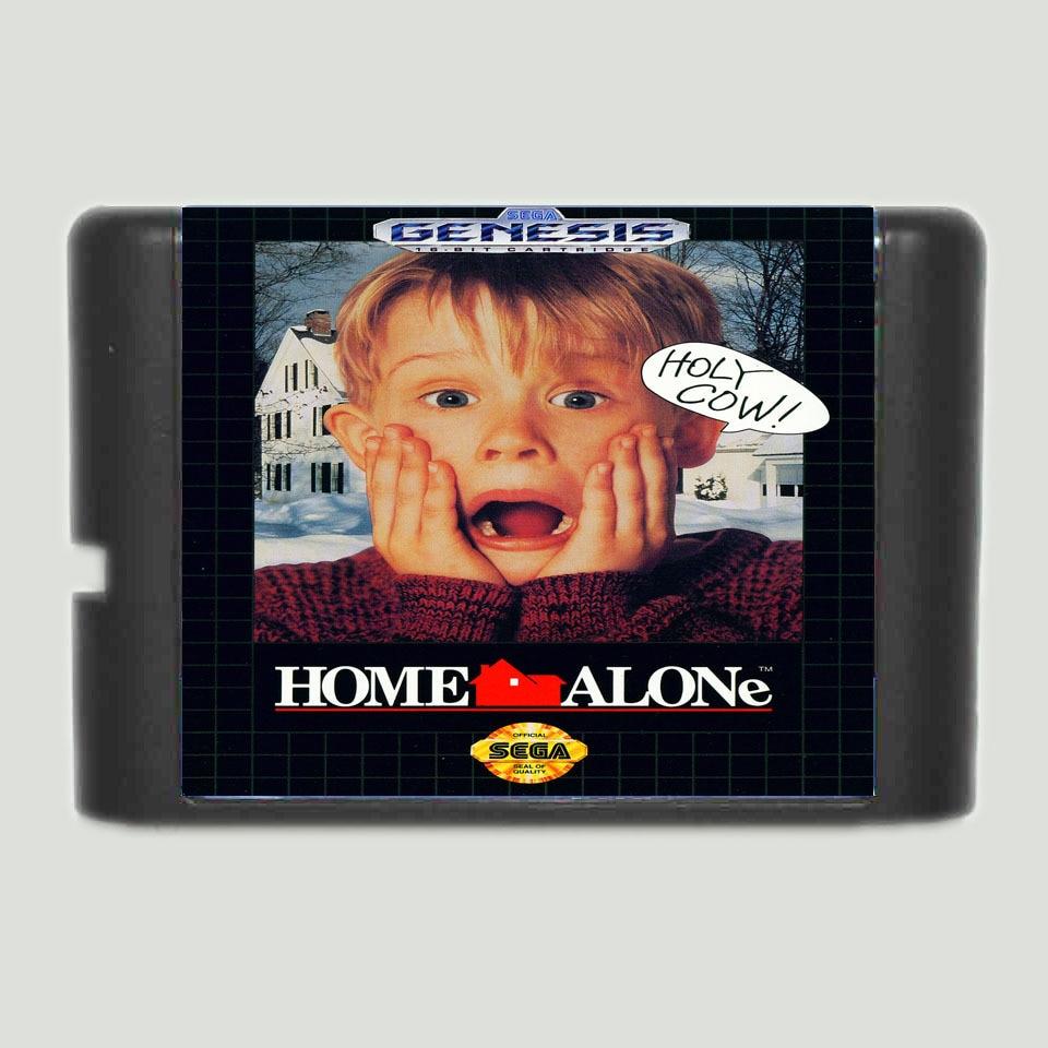 Home Alone  16 Bit MD Game Card For Sega Mega Drive For Genesis