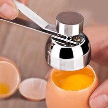 Металлические ножницы для открывания яиц яйцо Топпер резак нож для ракушек из нержавеющей стали вареное, сырое яйцо открытый творческий кухонный набор инструментов#20
