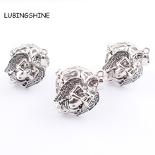 LUBINGSHINE 1PCS Pregnant Women Angel Pendants jewelry Floating Locket Antique Silver aromatherapy lockets Drop shipping