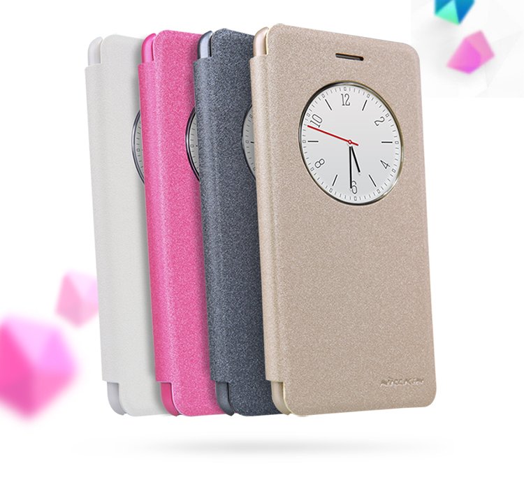 finest selection 5024c 62b15 US $8.99 |Original Nillkin Sparkle Series leather case for OPPO F1 A35 flip  cover case with retail package on Aliexpress.com | Alibaba Group