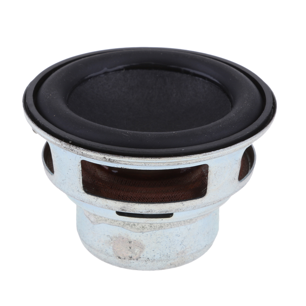 New 45mm 8W Full Range Audio Speaker Stereo Sound Black Replacement Fit For Most Audio Speaker Accessories