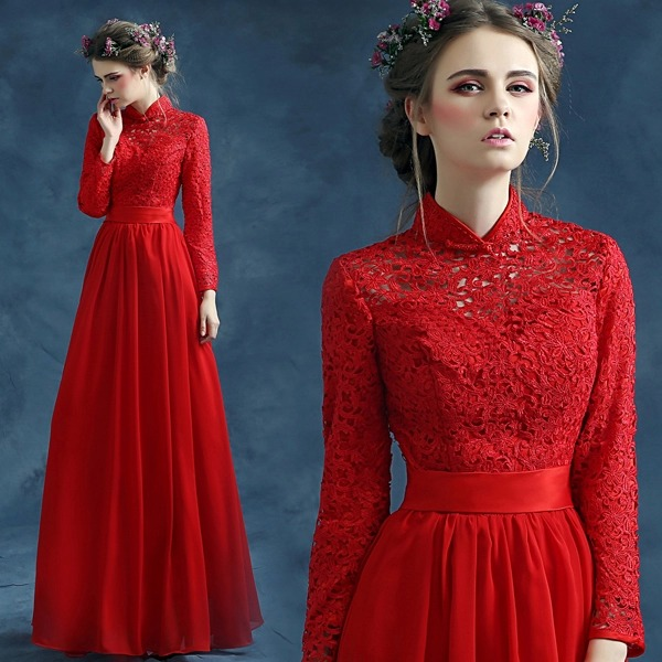 Compare Prices on Chinese Long Dresses- Online Shopping/Buy Low ...