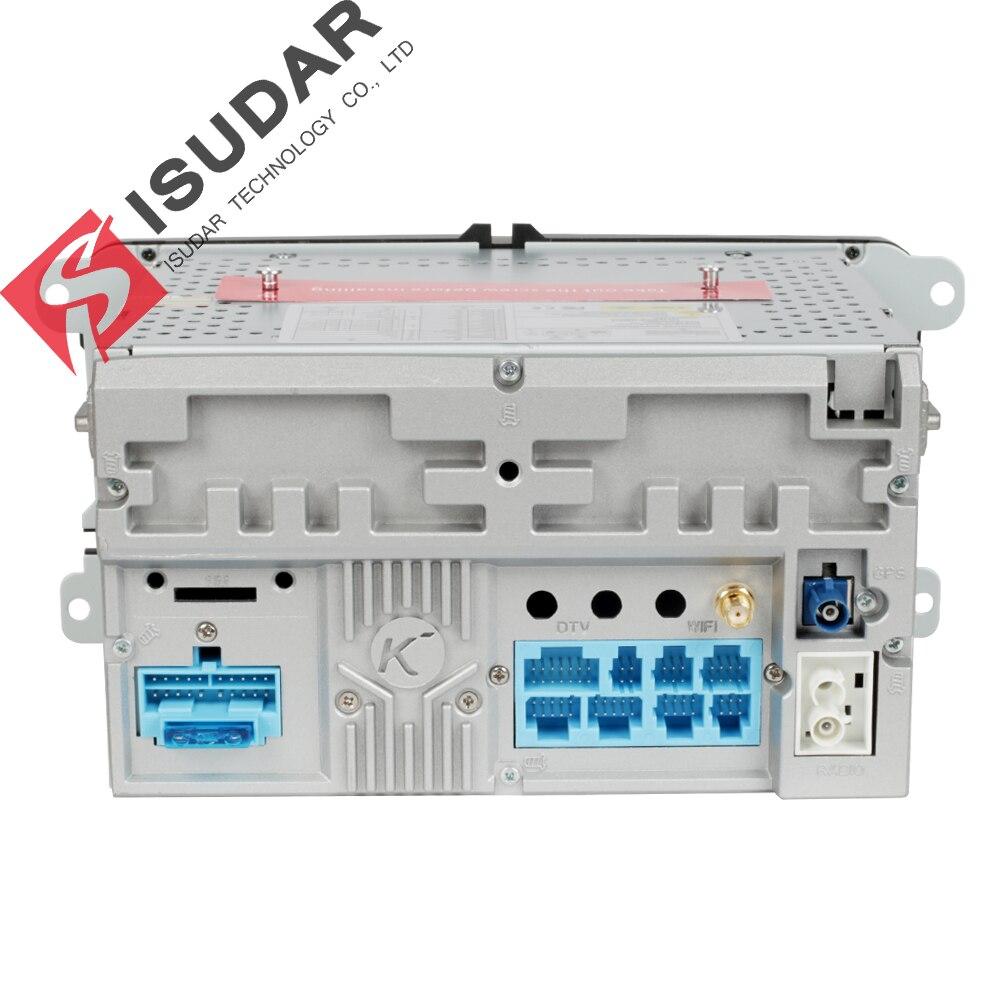 Isudar reproductor Multimedia Android 8,0 GPS 2 Din Car Audio Radio Auto para VW/Volkswagen/POLO PASSAT/Golf Octa-core Radio FM IPS - 5
