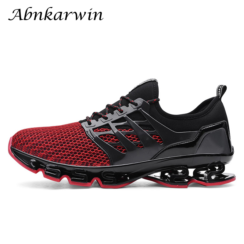 2019 super cool running shoes men sneakers bounce fashion breathable  outdoor sport shoes trainers athletic shoes 463526158d3c