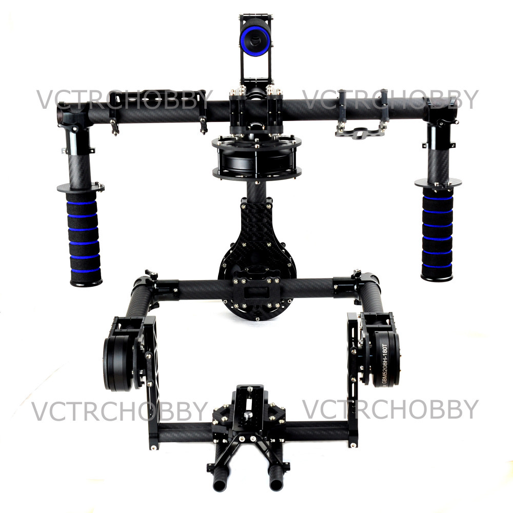 3 Axis Red EPIC SCARLET DSLR HANDLE Brushless Gimbal Stabilizer Movi Gimbal