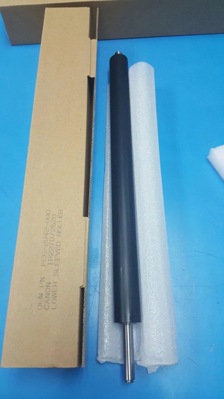 FC6 2942 000 FC7 0242 000 IR2870 IR3025 Lower Fuser Pressure Roller for Canon IR 2520 2525 2530 2230 2830 2270 2870 3025 3225