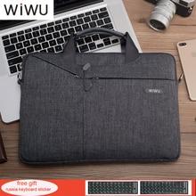 WIWU Newest Laptop Messenger Bag 11 12 13.3 14 15.4 15.6 Waterproof Nylon Notebook Bag for Dell 14 Laptop Bag for Macbook 13 Air