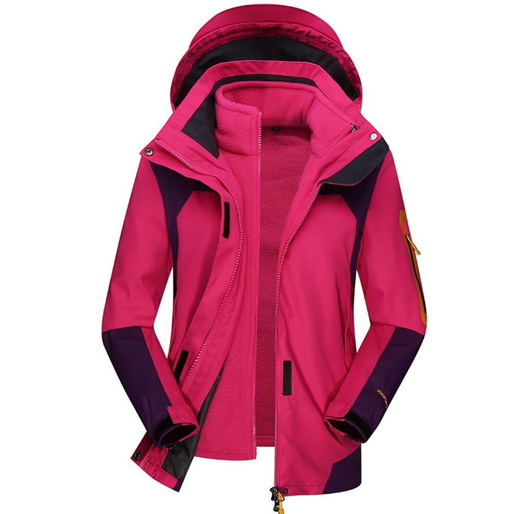 2019 Invierno Del Impermeabile Con Blue Donne Cappotto Delle A purple Inverno Esterno Antivento red Mujer Cappuccio Pezzi Due Youyedian Pink Set Caldo Di hot Abrigos qEtTwA
