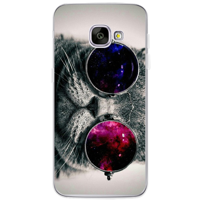 Coque For Samsung Galaxy S3 S4 S5 S6 S7 Edge S8 Plus A3 A5 2016 2015 2017 prime J1 J2 J3 J5 J7 Case TPU Silicon Cover Cat Fundas