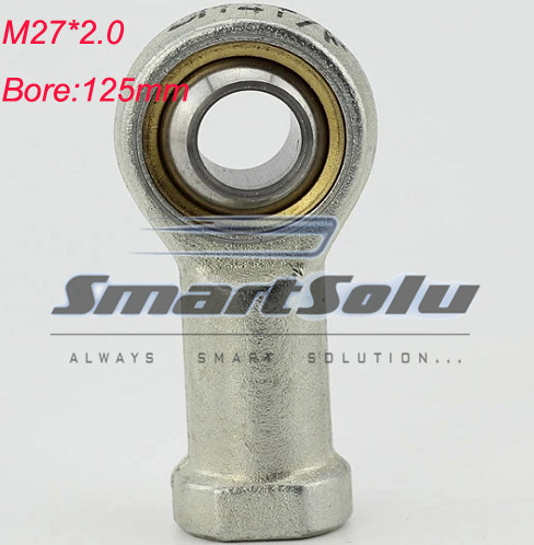 free shipping 2pcs M27 Female Threaded Rod End Joint Bearing SI27T/K PHSA27 air cylinder bearing for 125mm bore sizes 30mm bore female metric threaded high quality internal thread rod end joint bearing free shipping