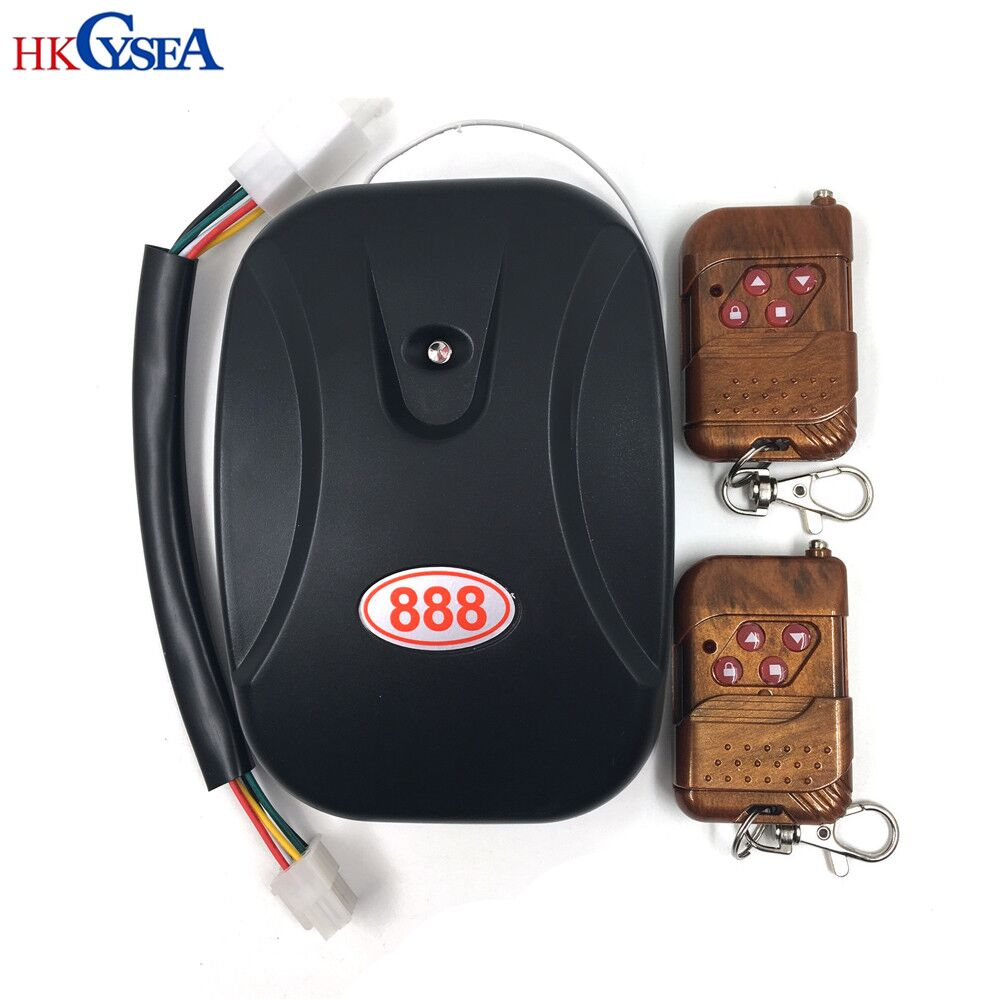 HKCYSEA 433MHZ For General Electric Garage Door/Roller Shutter Door /Rolling Gate Controller/Gate Remote Control Receiver mini wireless remote controller receiver rolling code for garage door