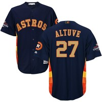 MLB Men S Jose Altuve Houston Astros Gold Program Jersey